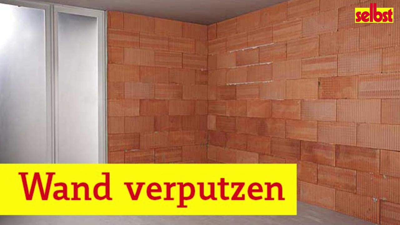 Wand Verputzen Video Video In 2020 Wand Verputzen Verputzen Wand Putz
