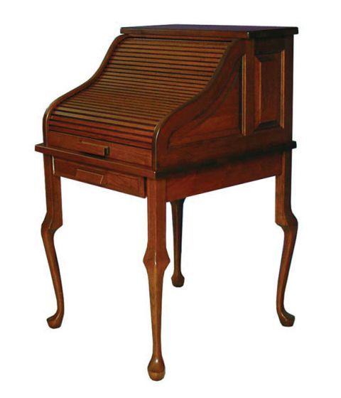 Rolltop Secretary Desk Amish Office Furniture Sugar Plum Oak In Norfolk Nebraska