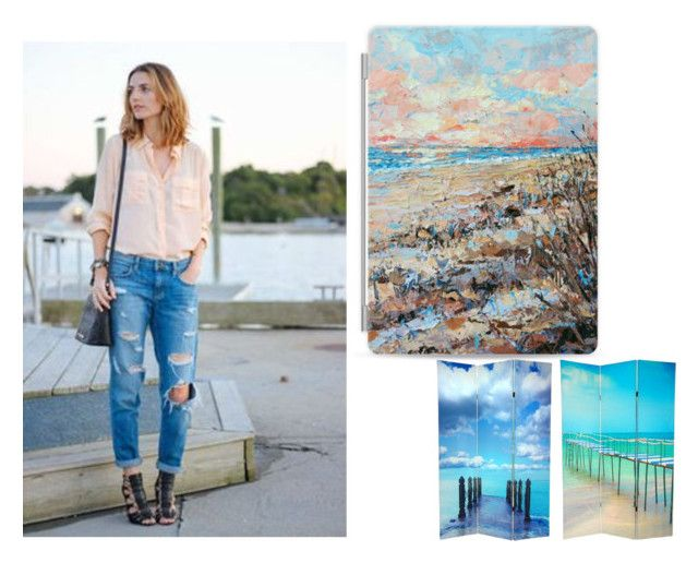 """""""Atlantic Shore"""" by snazzydiva2002 on Polyvore featuring art"""