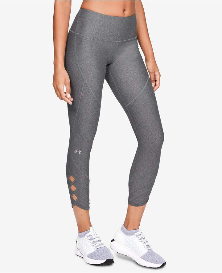 1c3990cd1351b HeatGear® High-Rise Cutout Ankle Leggings in 2019 | Products | Under ...