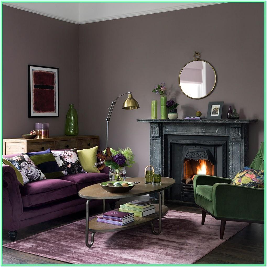 Emerald Green Dark Green Living Room Ideas in 8  Mauve living
