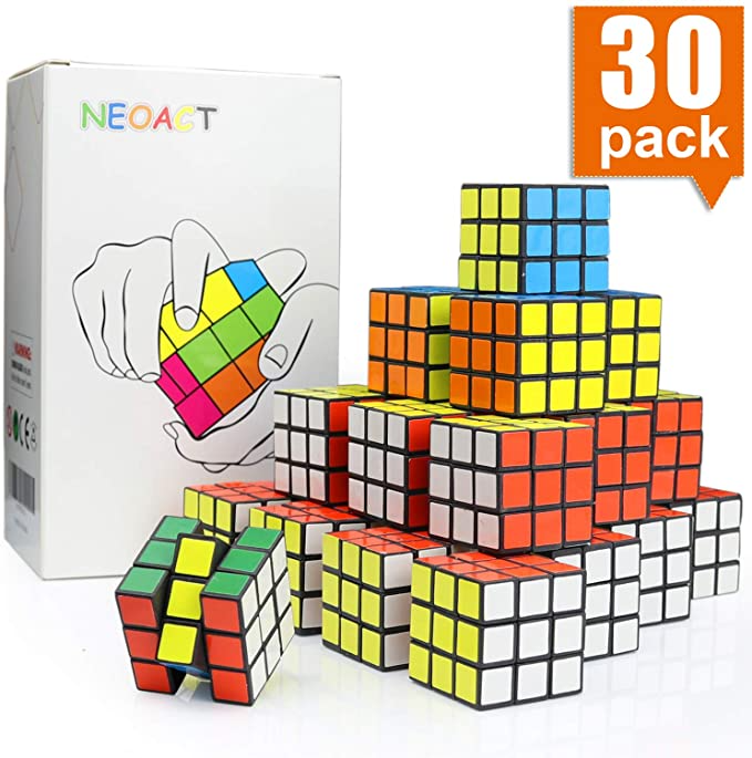 Amazon Com Neoact Mini Cube Puzzle Party Toy Eco Friendly Material With Vivid Colors Party Favor School Supp School Supplies Puzzle Puzzle Party Party Toys