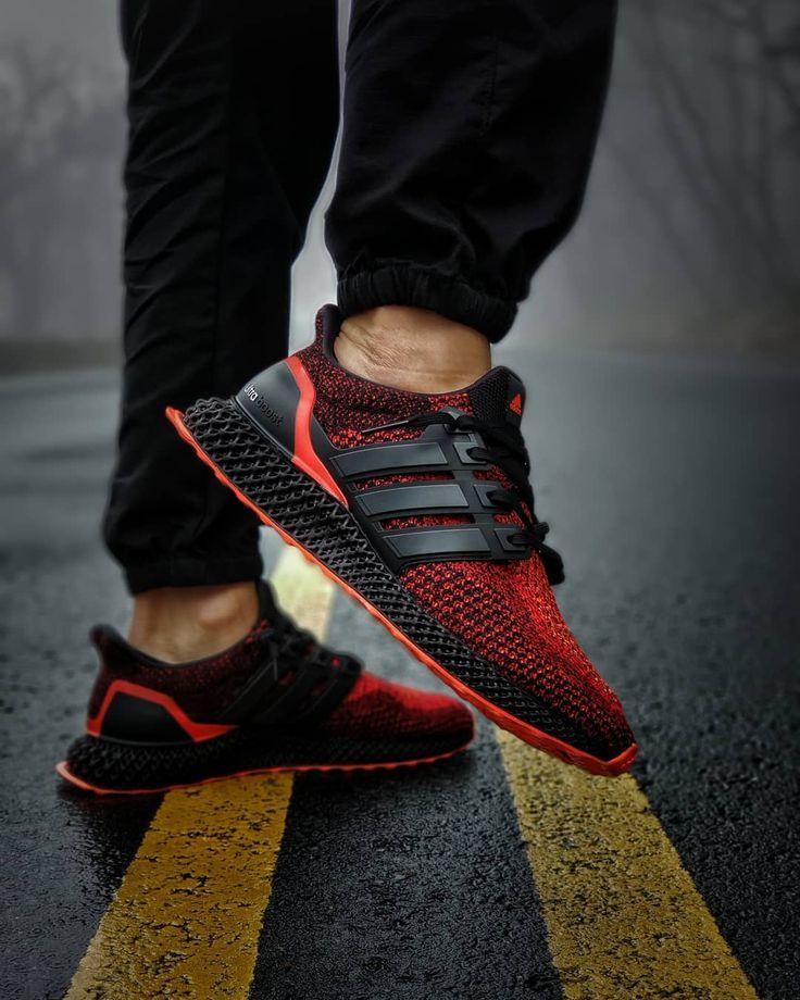 ADIDAS FUTURE CRAFT 4D RED MENS RUNNING SHOES | SastaJoota