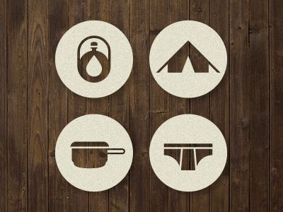 Survival_icons2:  - Love the icon treatment