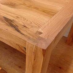 Detail | Esstisch aus Altholz ❤