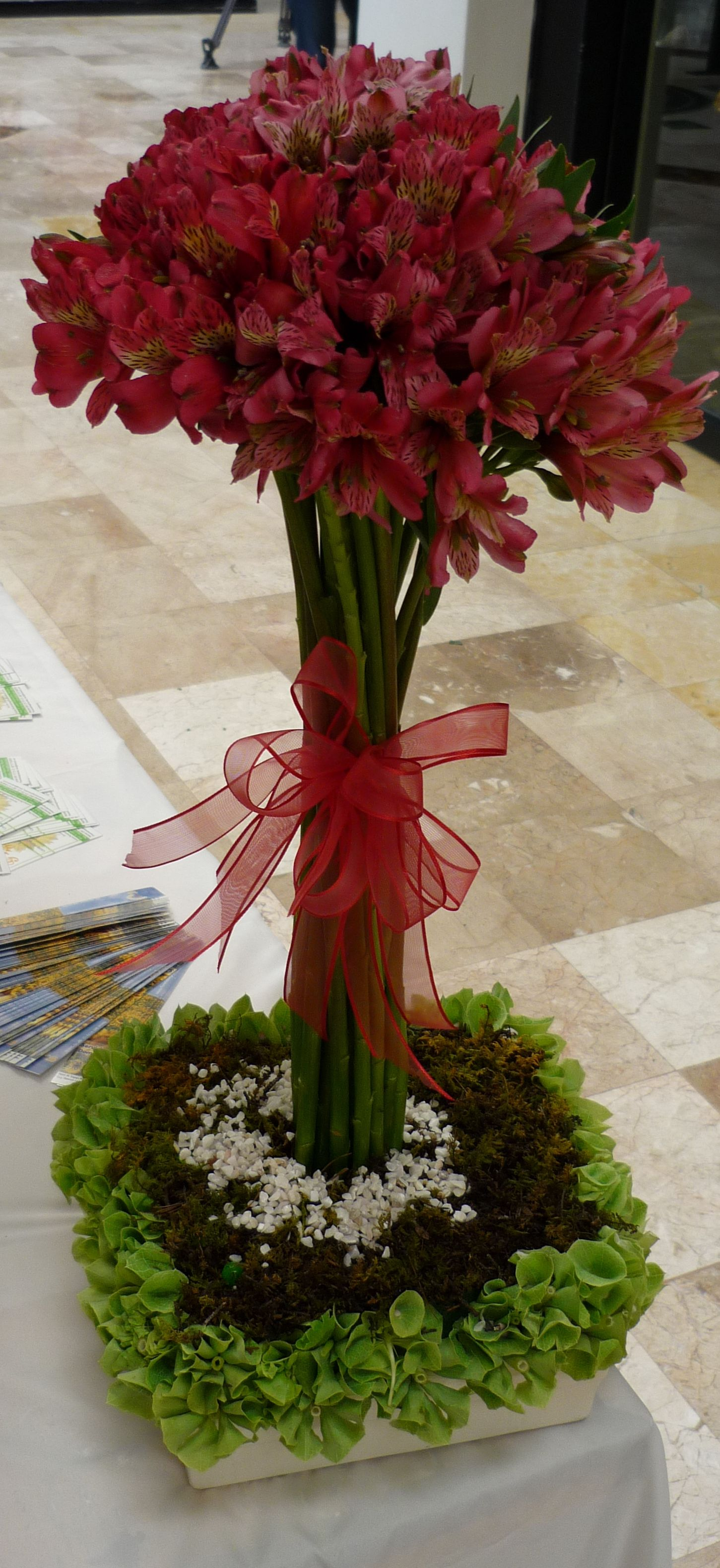 topiaries I would create with alstroemeria