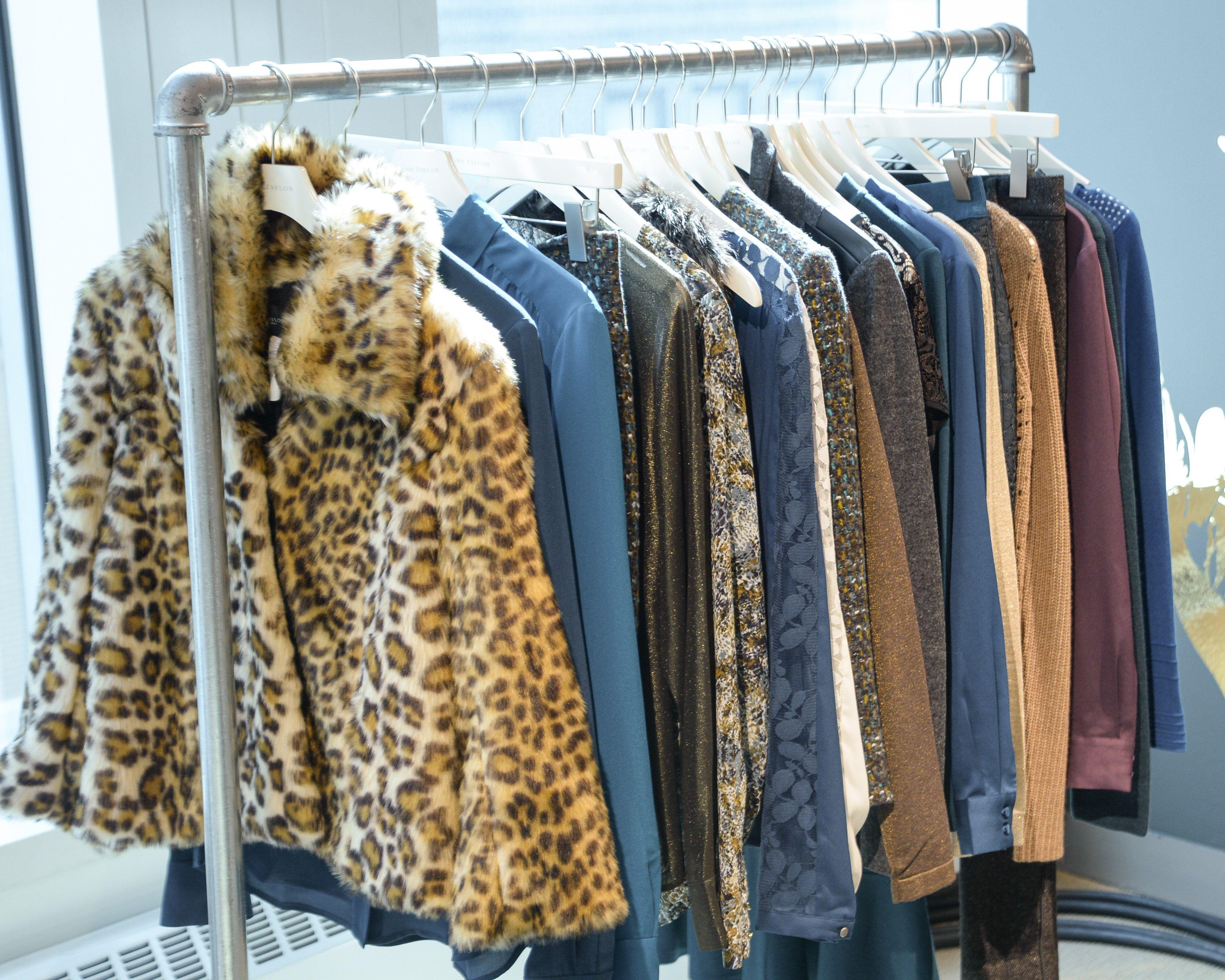 Faux fur coats and a gorgeous winter color palette