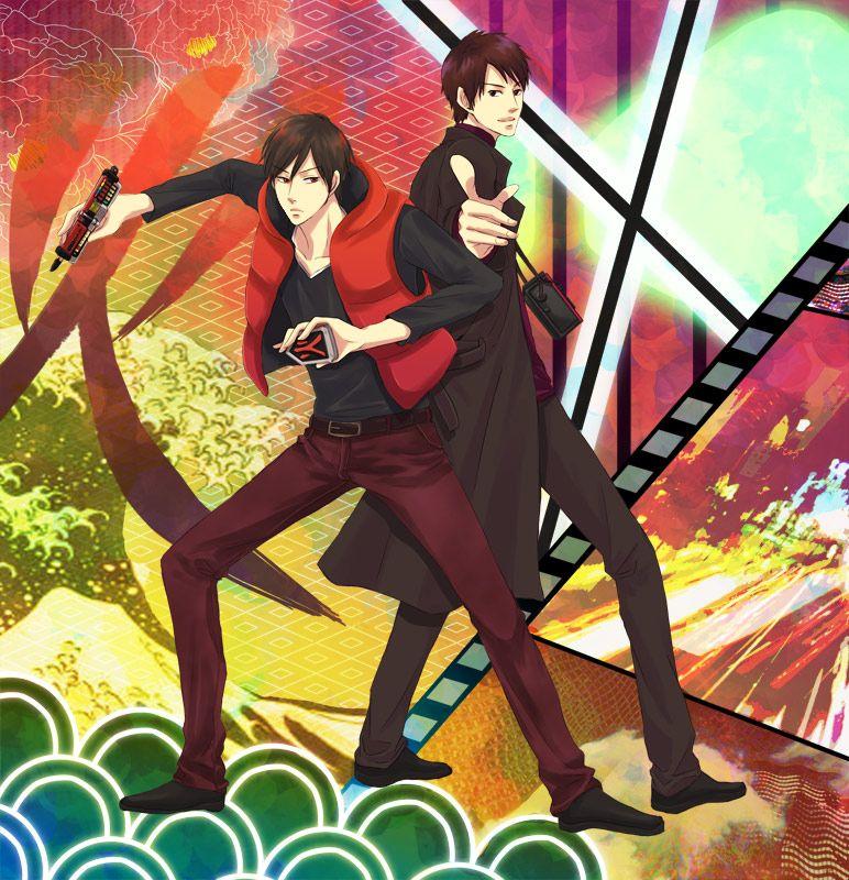 Shikenred And Decade By Irksraz Kamen Rider Kamen Rider Decade Anime Images