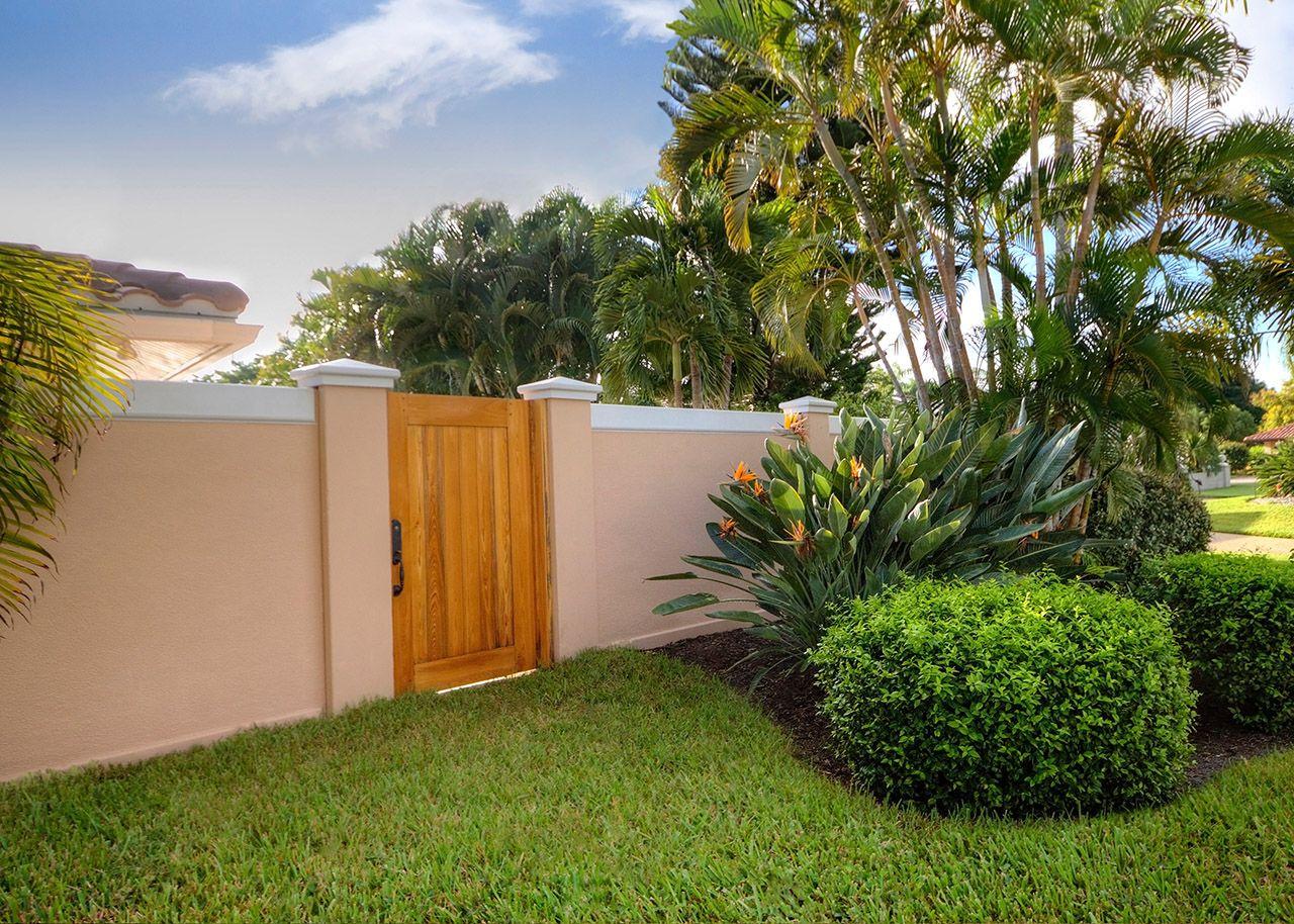 Precast Concrete Fence Walls photos   Concrete fence, Garden wall ...