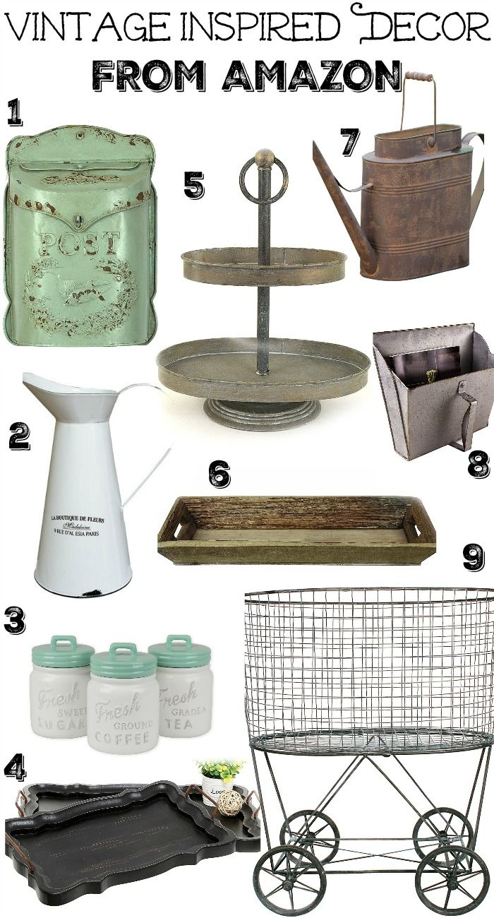 Where to Find Vintage Decor on A Budget | Modern farmhouse, Modern ...