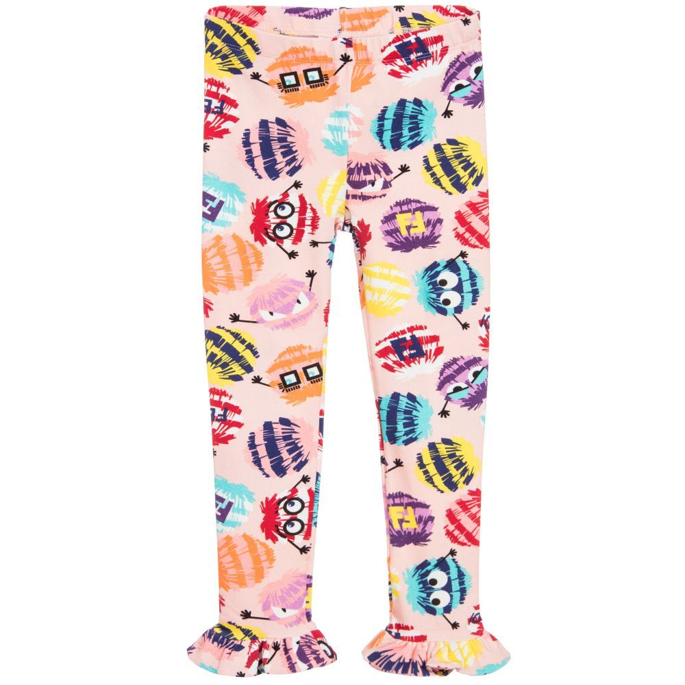 2b45856d4e6d Pom-Pom Ruffle Leggings