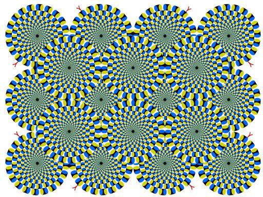 Las ilusiones opticas del doctor Akiyoshi Kitaoka
