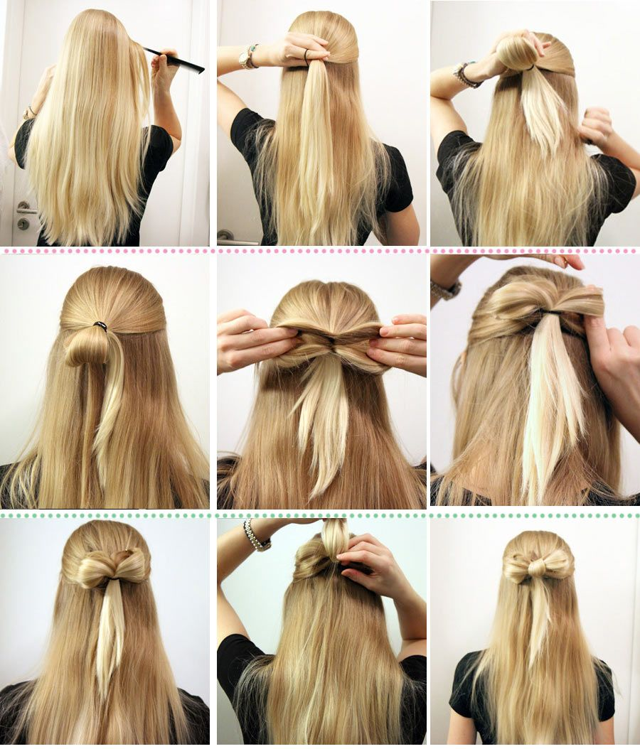 27 Great Tutorials For Gorgeous Hairstyles Coiffure Facile Coiffures Simples Tuto Coiffure