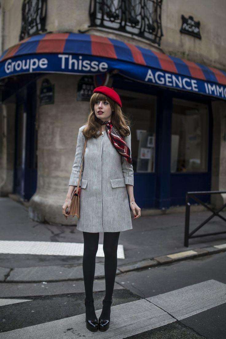ベレー帽のかぶり方とコーデ 女性ヘアアレンジ海外画像特集 Paris