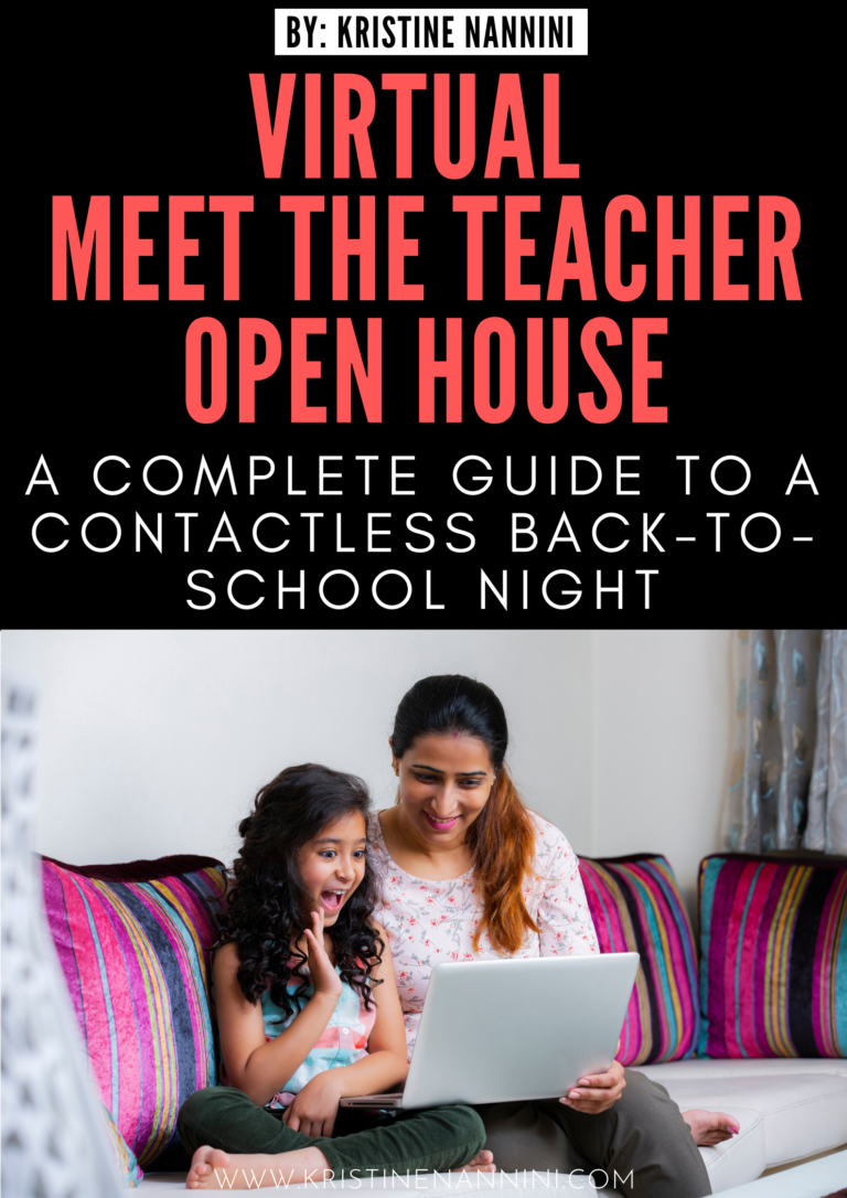 How to Plan a Virtual Meet the Teacher Open House - Young Teacher Love