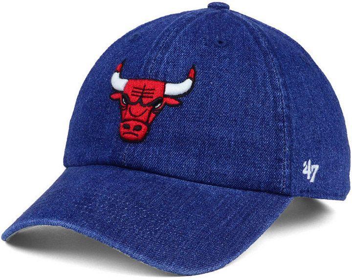 47 Chicago Bulls All Denim Clean Up Cap Chicago Bulls Kobe Bryant Michael Jordan 47 Brand