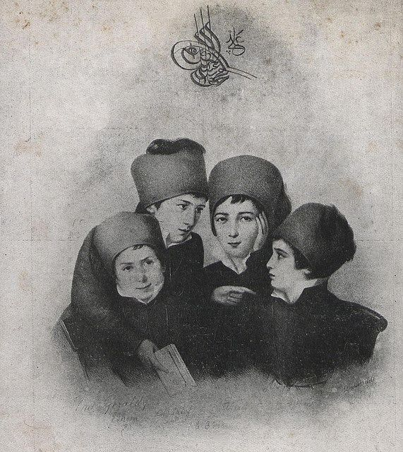 [Ottoman Empire] First Ottoman Students in Europe, Paris ... First Photograph 1830