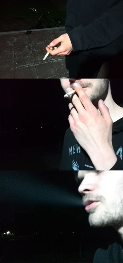 Rauchzug