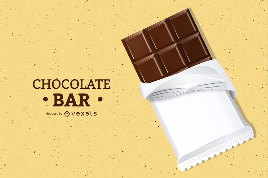 3d Chocolate Bar Illustration Ad Ad Affiliate Illustration Bar Chocolate Chocolate Bar Design Chocolate Chocolate Bar