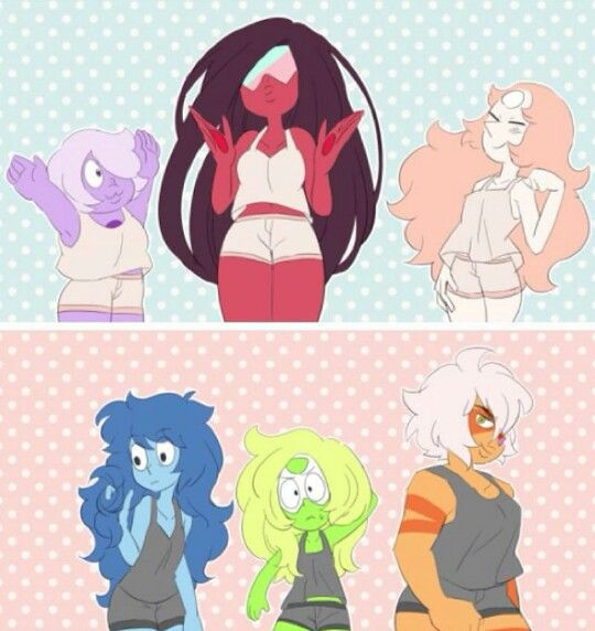 If the gems had the opposite of what their hair is
