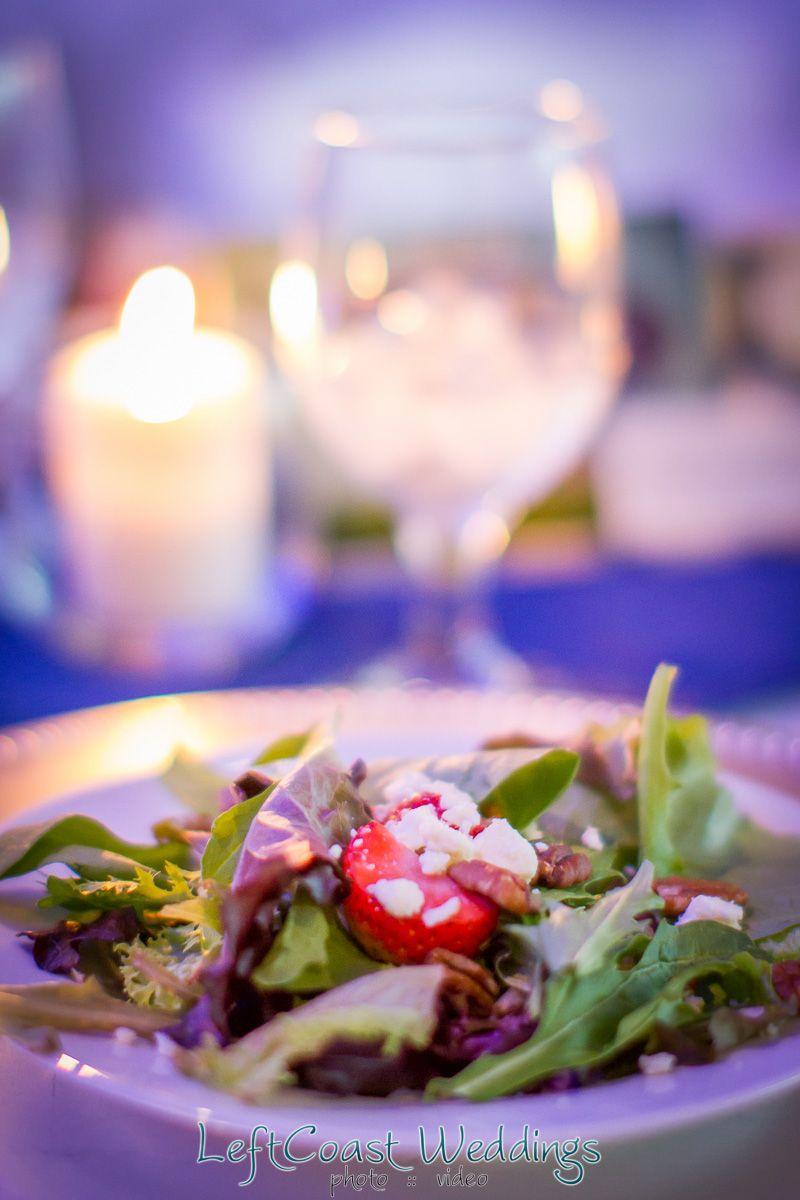 Strawberry Spring Salad / Left Coast Wedding Photography