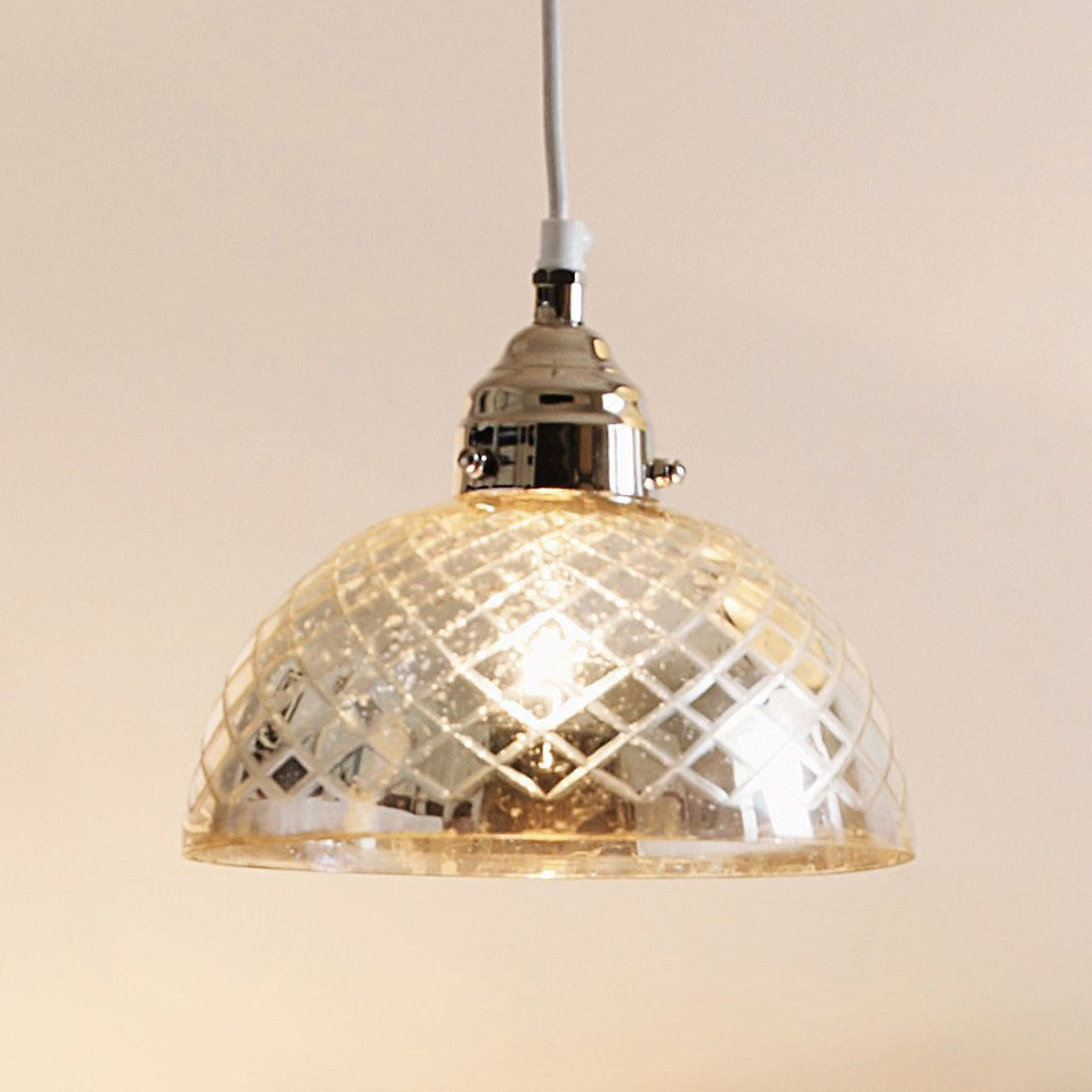 Buy Home Accessories Part - 32: Buy Home Accessories U003e Lighting U003e Antiqued Cut-glass Ceiling Light From The  White Company