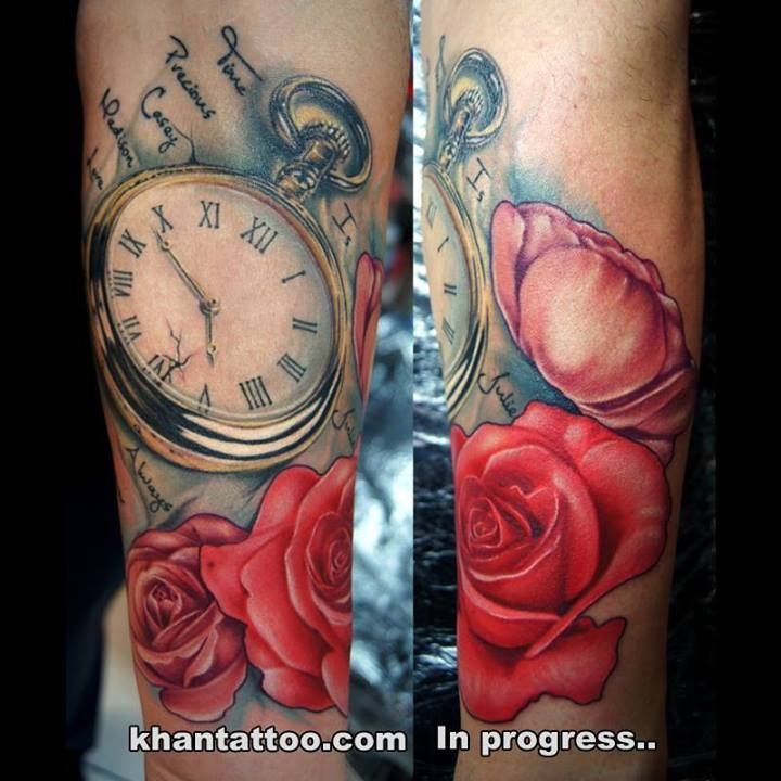 Tatuaże Khan Tattoo Higit Tattoos Time Tattoos
