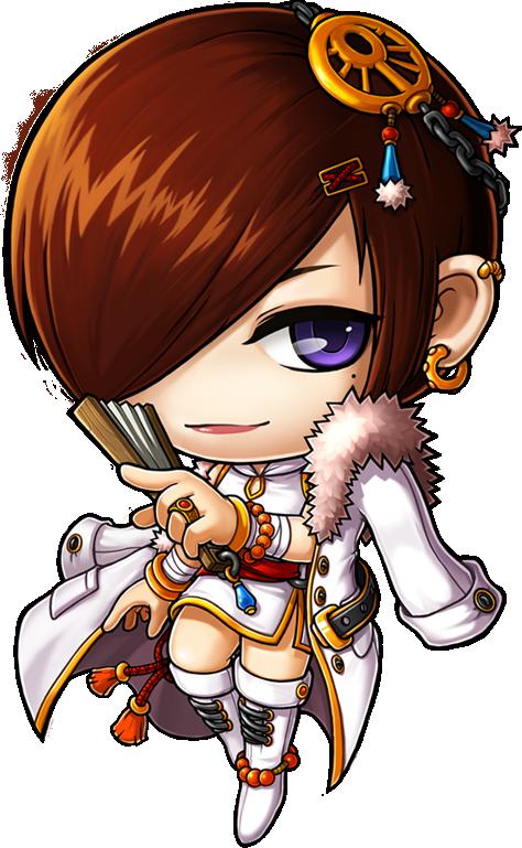 Dual Blade Maplestory Artwork, Chibi, Character Design