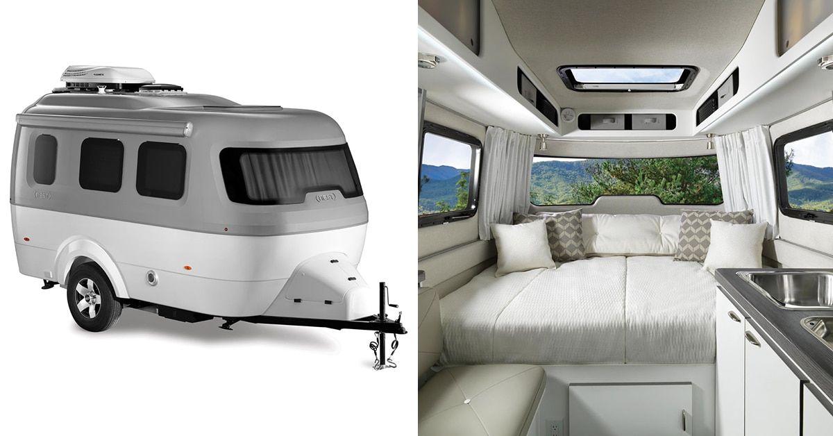 Airstream Launches Fiberglass Travel Trailer Perfect for Spontaneous Adventurers  Airstream