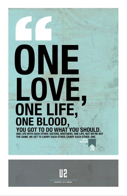 Bono zitiert über die Liebe