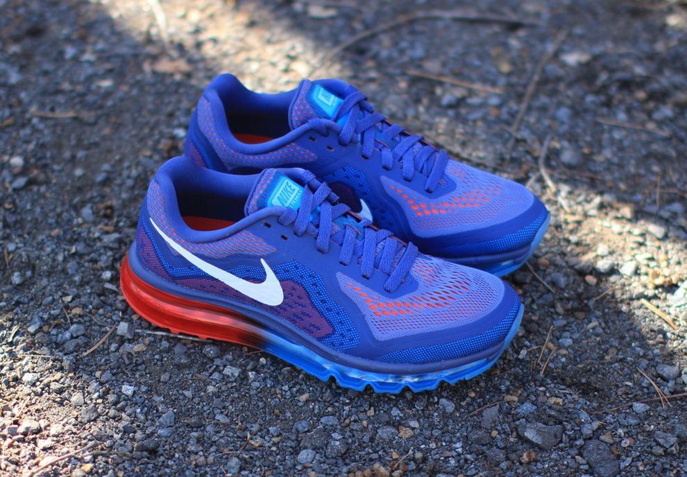 newest 3eddb 401d1 Nike Air Max 2014- BlueLight Crimson