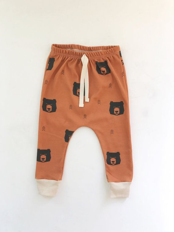 Colorfulhome Baby Pants 100/% Cotton Baby boy Girl Pants Print Infant Baby Leggings Waist Kid
