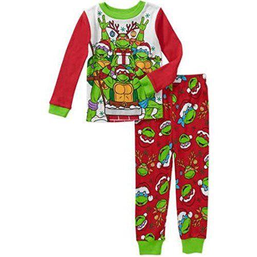 3fa568542 Teenage Mutant Ninja Turtles Little Boys Christmas Pajama Set 3T ...