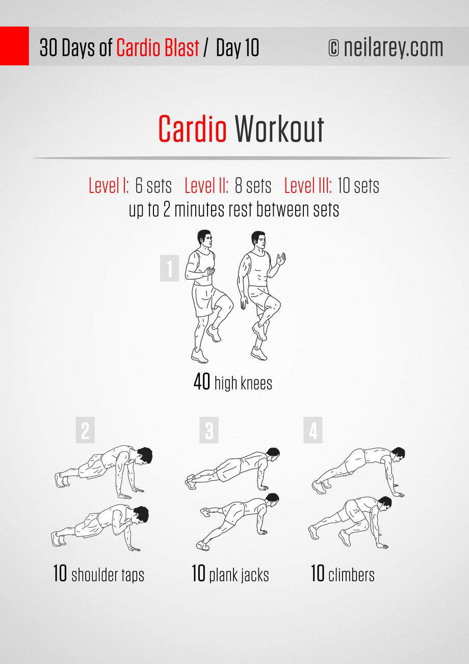A cardio routine you can do anywhere no running required