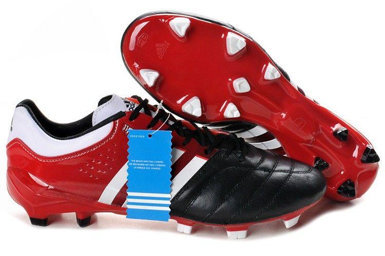 Adidas adipure 11pro trx fg soccer cleats black red white