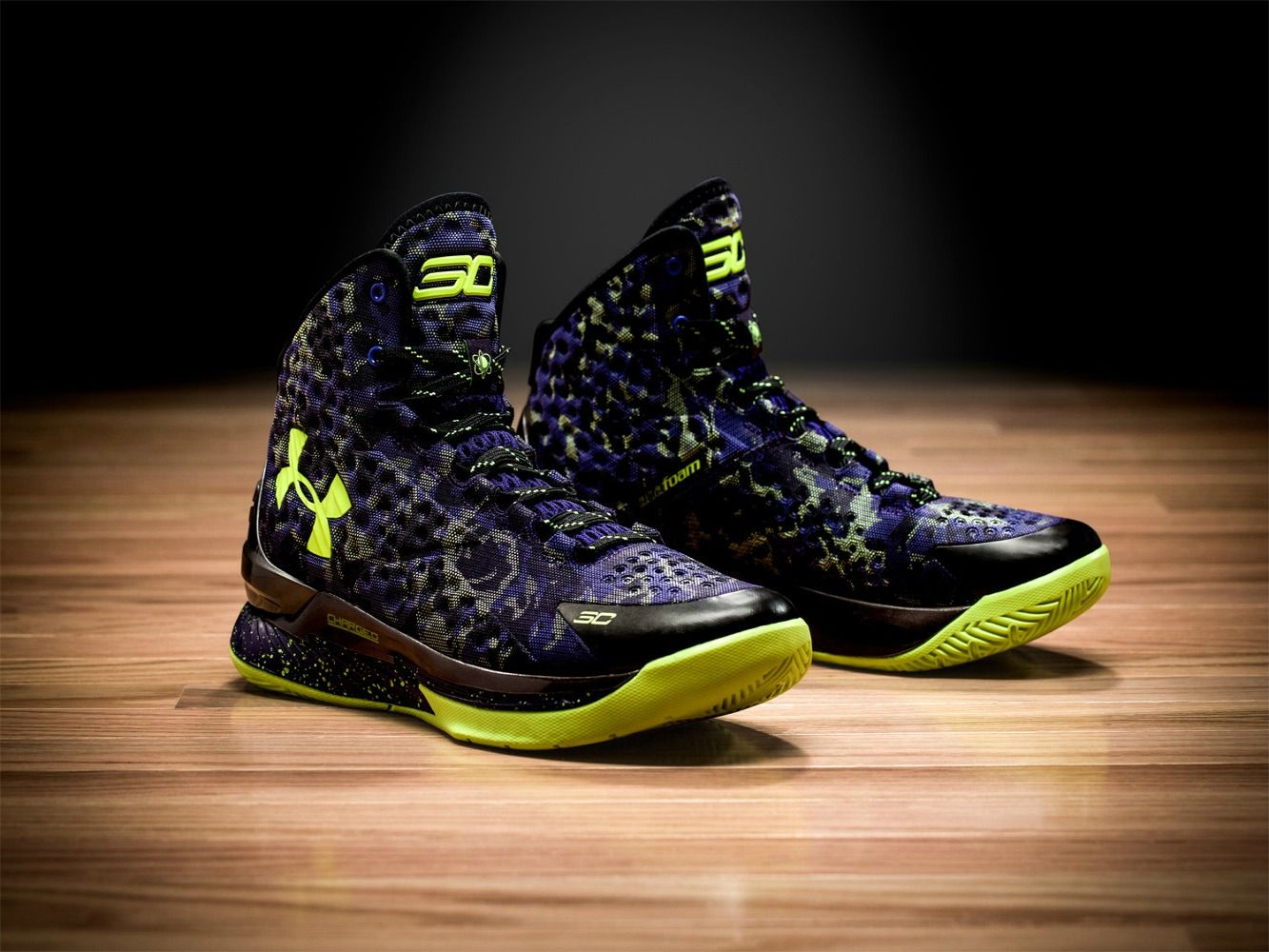 8336f99b65a1 Under Armour unveils a special edition Curry One for the 2015 All-Star Game.