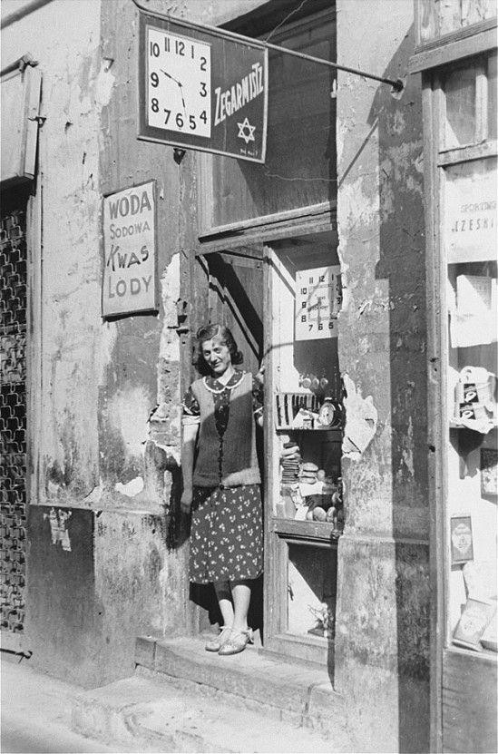 Warsaw ghetto in 1941
