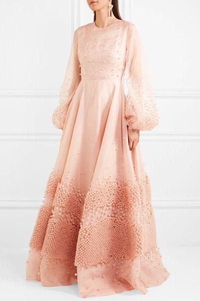 Roksanda | Viola embellished silk-organza gown | NET-A-PORTER.COM ...