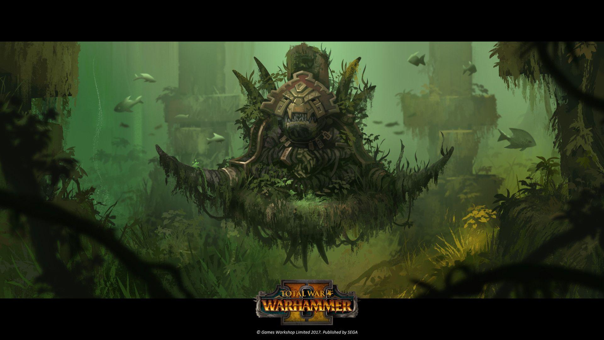 The Art Of Total War Warhammer II Art, Lizardmen