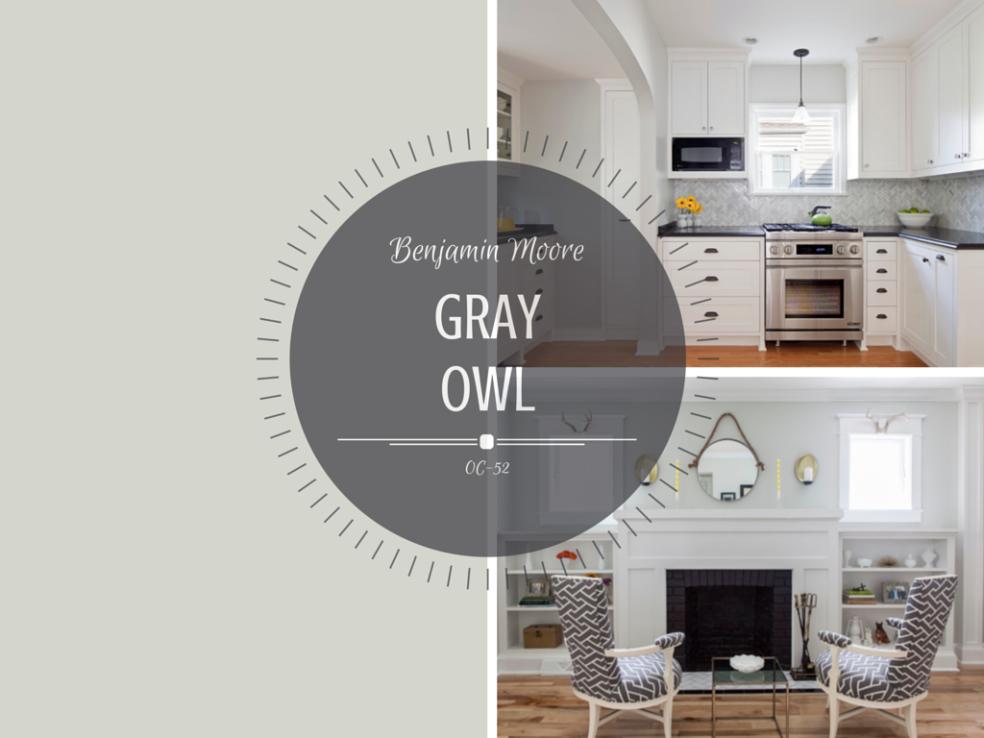 Best Color Spotlight – Benjamin Moore Gray Owl Benjamin Moore 400 x 300