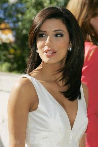 Styling With Eva Longoria Hairstyles 12 Merys Stores Hair Styles Eva Longoria Hair Medium Hair Styles