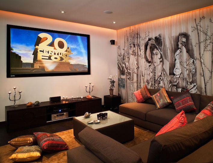 Ocean's 11 Villa Is A 6Bedroom Luxury Villa Rental In Phuket Glamorous Living Room Theater Portland Inspiration
