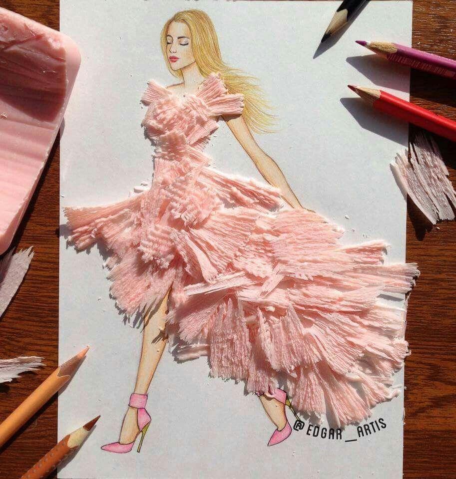 Creative Fashion Designs By Armenian Artist Edgar Fashion Design Drawings Sketches Creative Artwork