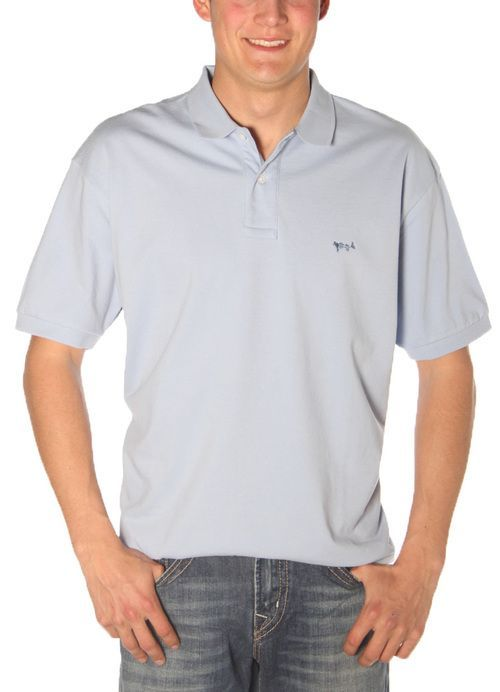 Polo in Sky Blue by Coastal Cotton Clothing, LLC