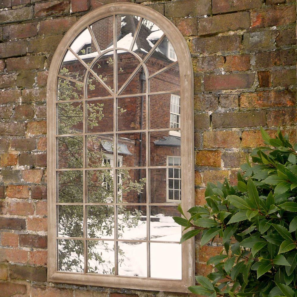 Arch Window Garden Mirror | Decoration | Pinterest | Garden mirrors ...