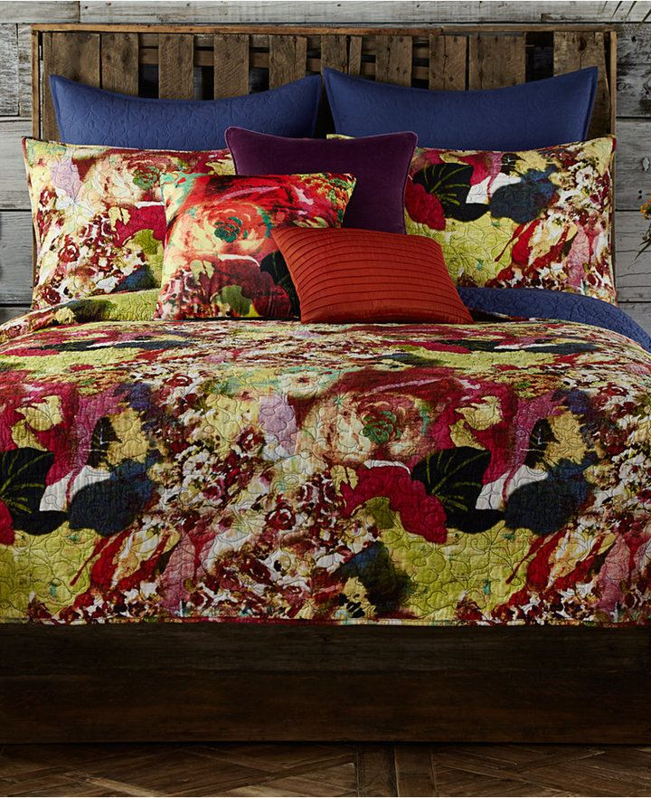 Tracy Porter Wild Flowers Quilted Standard Sham King