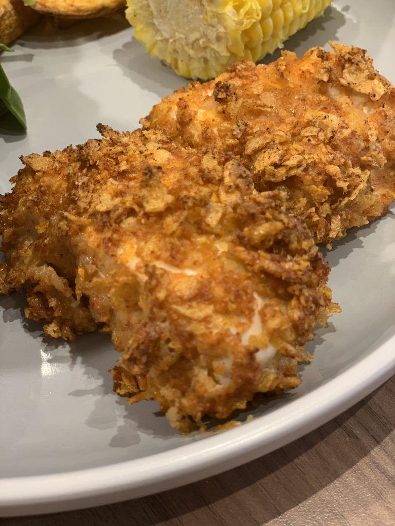 Crispy Cornflake KFC Fakeaway Chicken Tenders