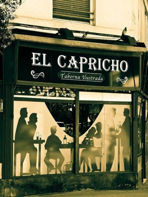"""Taberna Ilustrada """"El Capricho"""", Madrid   Restaurante de tapas y comida tradicional española"""