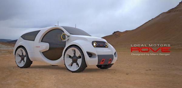 Local Motors Rove Vehicle Concept