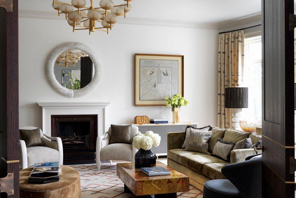 Living Room Decor Without Tv Inspirational Best Interior Designers Uk Desain Interior Interior Ruang Keluarga